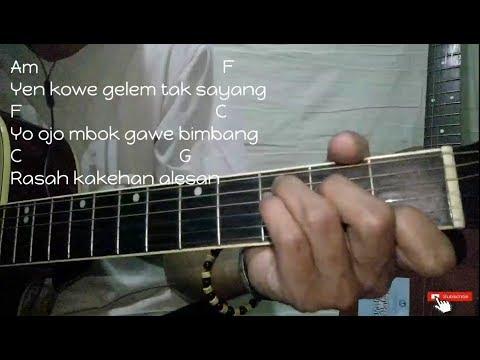 Pikir Keri - Acoustic Version   Cover By EasyChord   Chord/Kunci Gitar Mudah