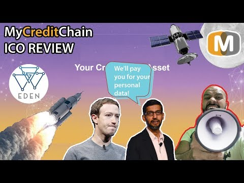 MyCreditChain ICO review - taking back your data and getting PAID💰💰💰💰💰