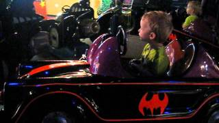 Riding the Barris Batmobile