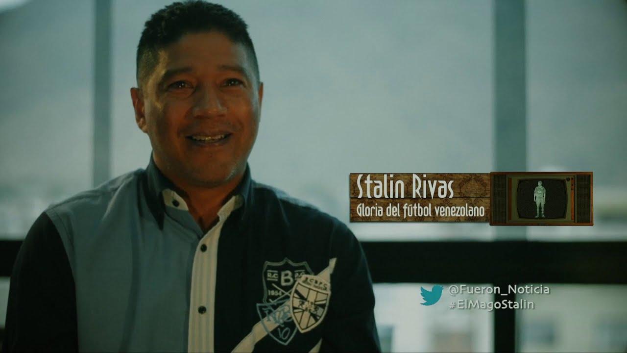 Stalin Rivas, gloria del fútbol venezolano   Fueron Noticia   E05