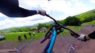 Downhill Mountain Bike POV Course Preview at Windham 2014