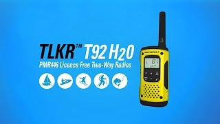 TLKR T92 H2O Walkie-Talkie Keeps You Connected on Your Adventures