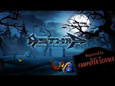 Asthra 2k18 Promo Video,dept. of Computer Science MES College Nedumkandam