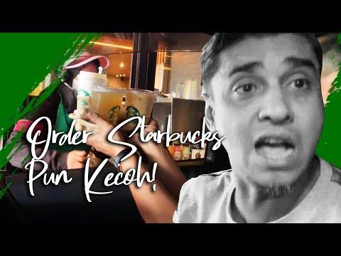 Pak Azad & Eira Syazira Nak Order Starbucks Pun Kecoh!!