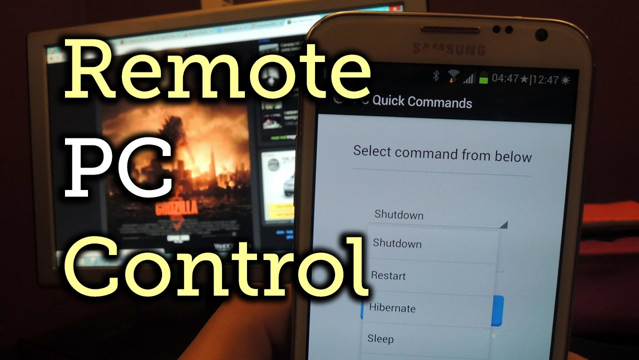 How to Send Shutdown, Sleep, & Other Commands to Your PC Remotely