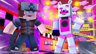 Funtime Freddy Takes Over TheFamousFilms Pizzeria! Minecraft FNAF Roleplay