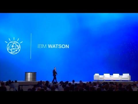 IBM World of Watson event keynote Day 1 full