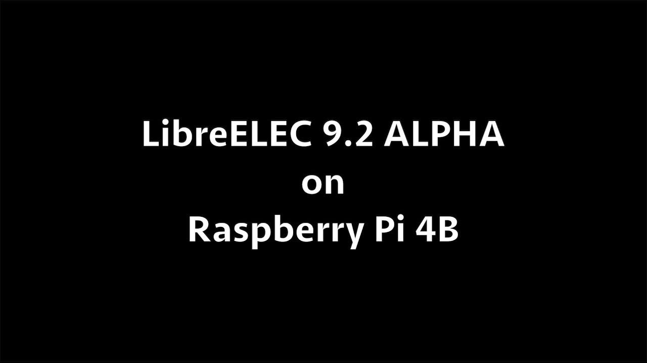 Kodi 18 Libreelec