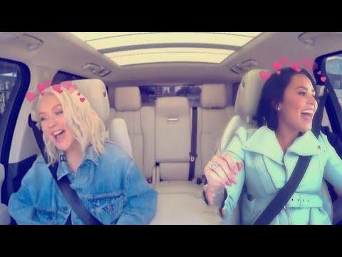 Christina Aguilera Praising Demi Lovato! Mp3