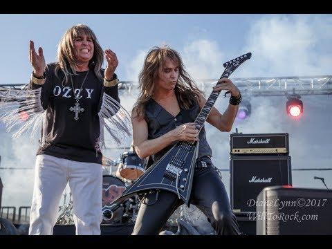 RHOADS TO OZZ - Over The Mountain - Rust Festival 11 25 17 - Ozzy Osbourne Randy Rhoads Tribute Band