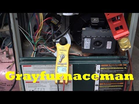 ECM vs PSC motor power usage
