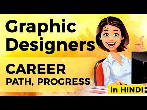Graphic Design Career: Career Path | Job Profile  (in Hindi) | IndiaUIUX
