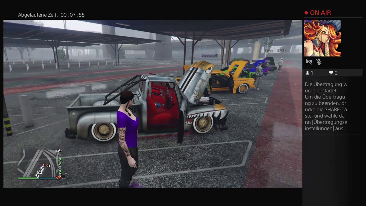 GTA 5 Tuning treffen Klassiker /old school Autos #9 - YouTube
