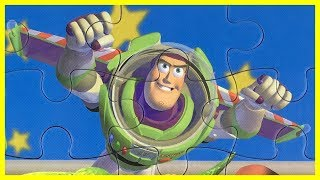 Toy Story Puzzle for toddlers - Buzz Lightyear, Woody, Rex - Rompecabezas Toy Story -トイ・ストーリー パズル