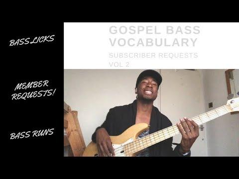 Gospel Bass Licks Vocabulary 2.1 | Sire v7 Bass
