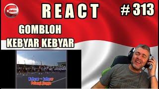 GOMBLOH - KEBYAR KEBYAR -  BRAZILIAN REAKSI LAGU INDONESIA (REACTION) MERDEKA !