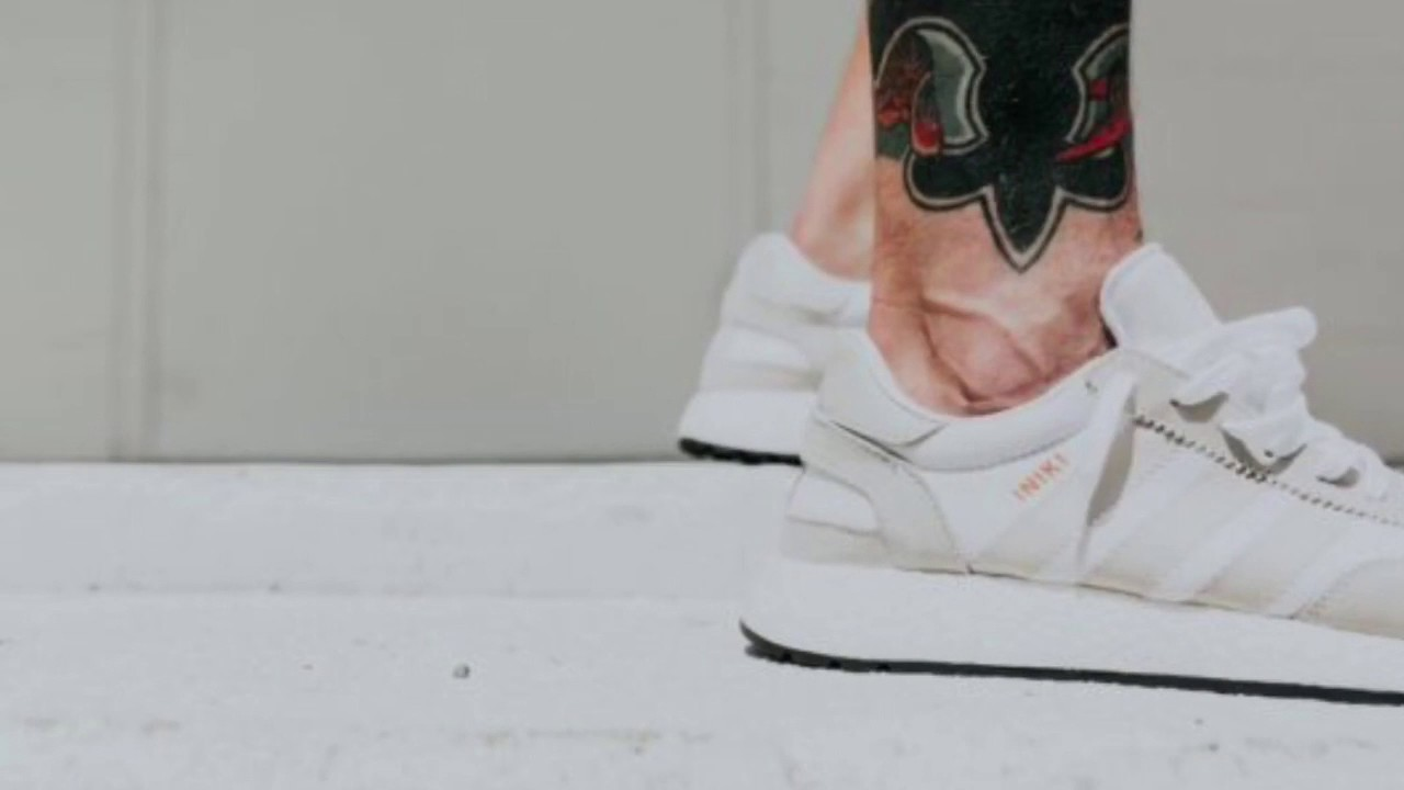 on sale 17c41 44db9 An On-Feet Look At The adidas Iniki Runner Boost In White Pearl Grey And Core  Black