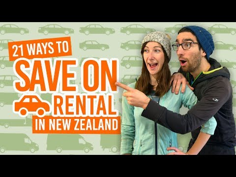 21 Ways to Save Money on Car & Campervan Rental in New Zeala