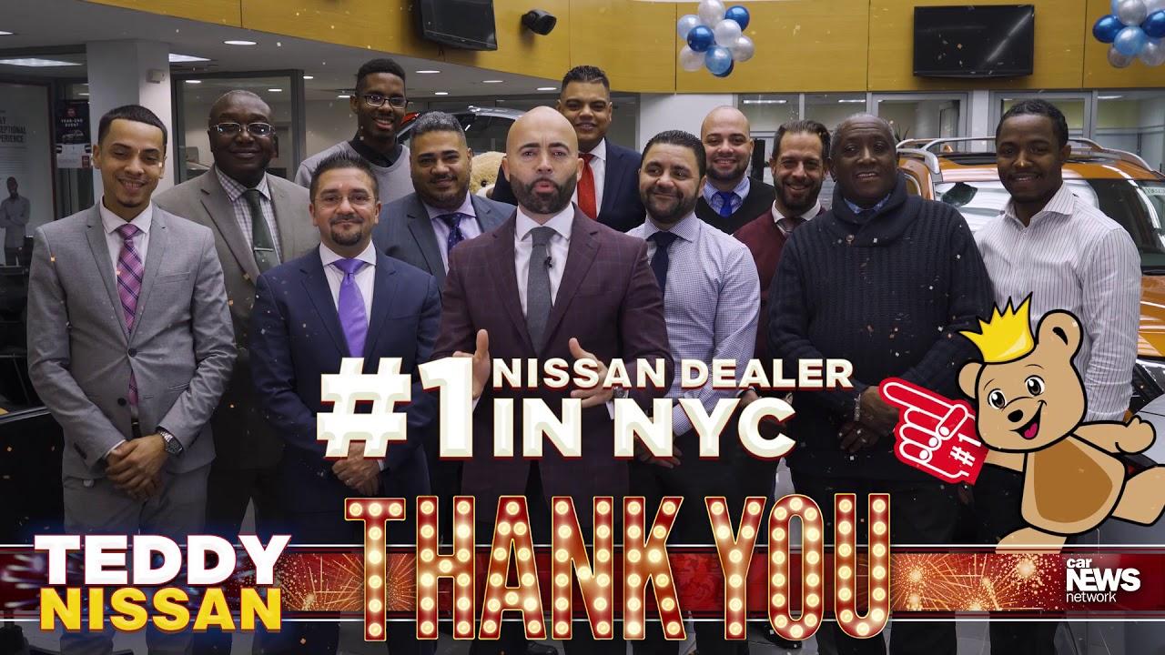 Bronx Car Dealers >> Thank You Nyc S 1 Nissan Dealer Teddy Nissan Bronx Ny