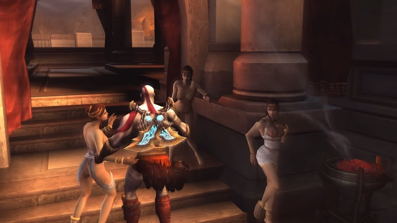 God Of War Iii's Sex Minigame Revealed