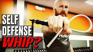 Testing the Stinger Tactical Whip (Spoiler: It Hurts) | Better Than a Baton?
