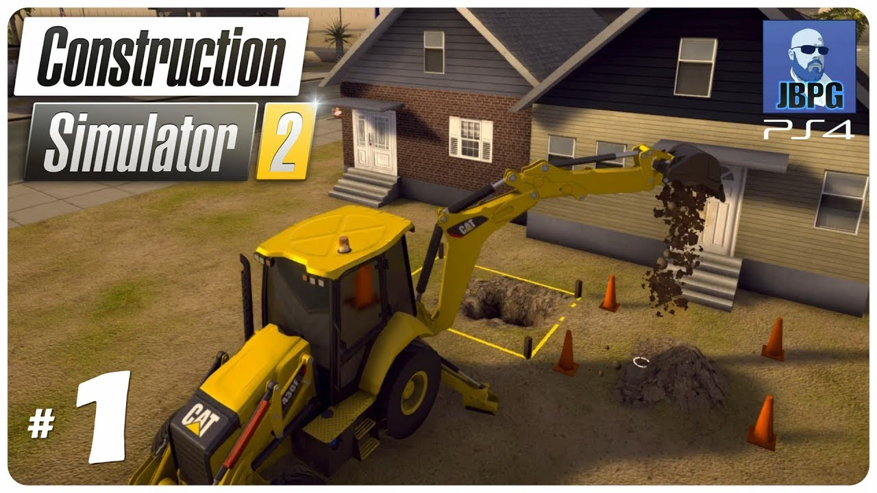 Construction Simulator 2 PS4 - Episode 1: Setting Up The Company