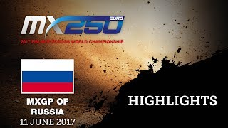 EMX 250 Race1 Highlights_Russia