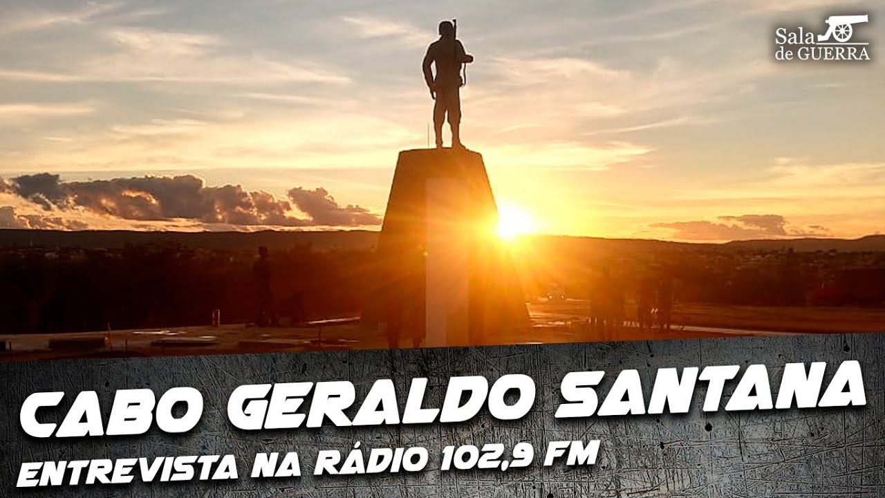 Cabo Geraldo Santana da FEB: Entrevista na Rádio FM 102,9