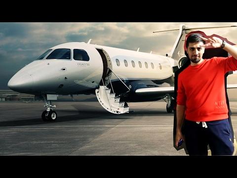 Dubai Gazillionaire Mo Vlogs Jets in to Yiannimize London HQ