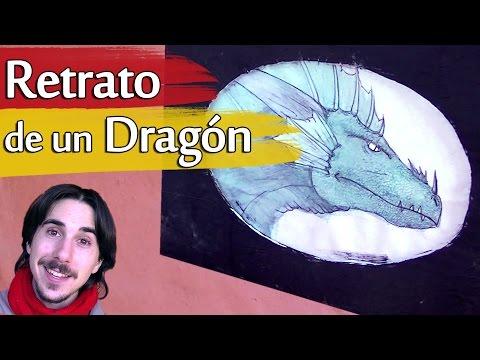 Cómo dibujar el Retrato de un Dragón | Arte Track