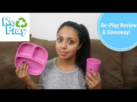 Re-Play Tableware Review & Giveaway!