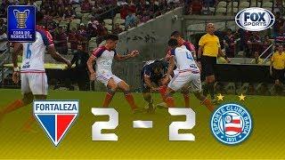 Melhores momentos de Fortaleza 2 x 2 Bahia pela Copa do Nordeste