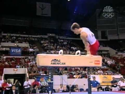 Paul Hamm - Pommel Horse - 2003 U.S Gymnastics Championships - Men - Day 2