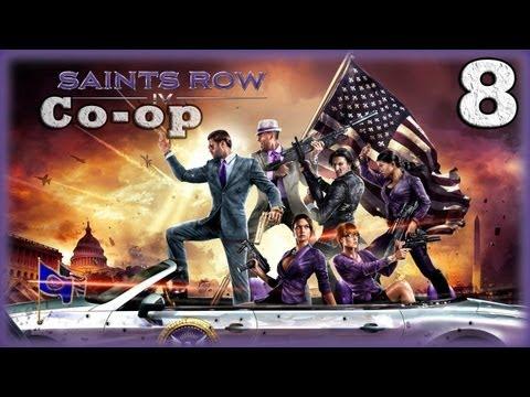 Смотреть прохождение игры [Coop] Saints Row IV. Серия 8 - Тотальное уничтожение. [16+]