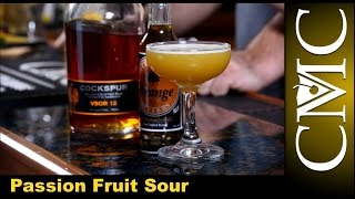 The Passion Fruit Sour