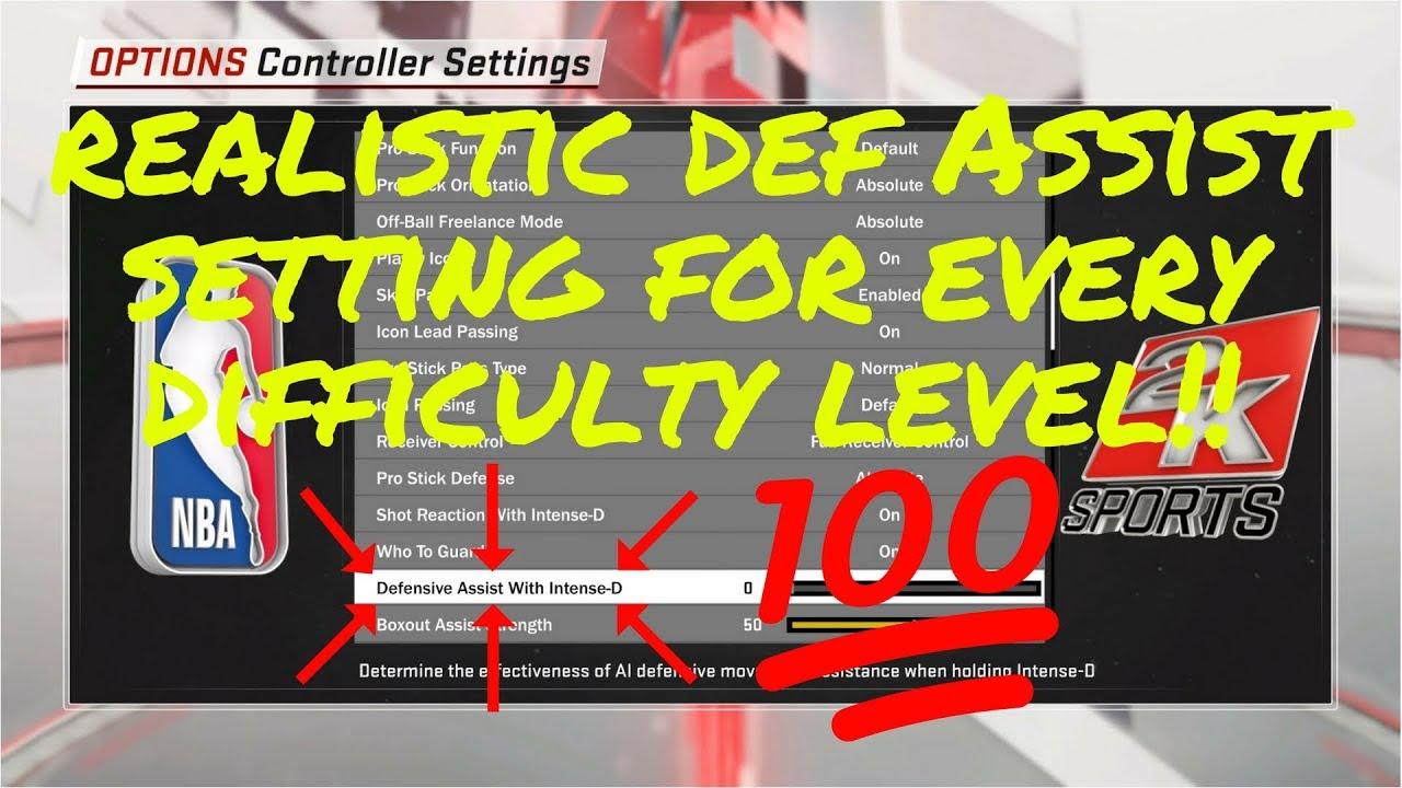 NBA 2K18 Defensive Assist Slider Tested/Explained! Best Setting 4