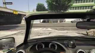 GTA V PS4 Playthrough First Person Mode Part 2 First driving mission