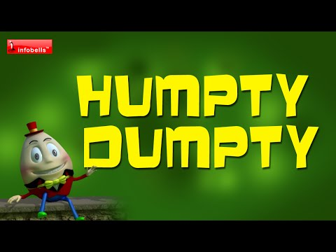 Humpty Dumpty - Nursery Rhymes 3D Animated