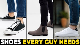 5 SHOES EVERY MAN NEEDS IN HIS CLOSET | Alex Costa