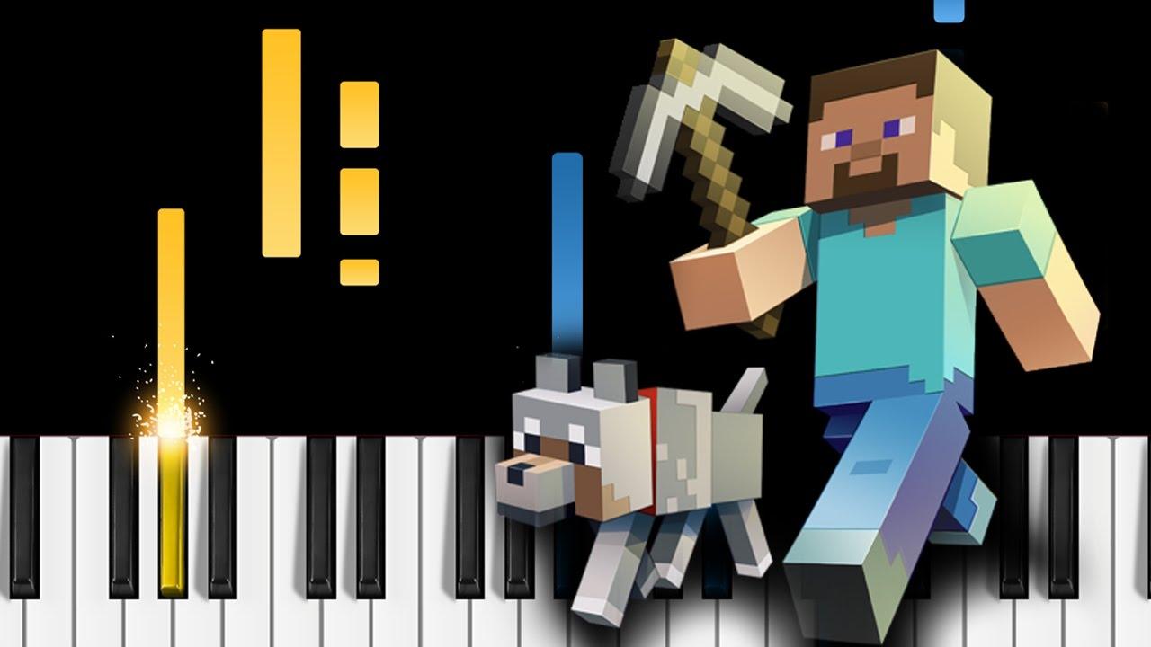 Minecraft Theme - Piano Tutorial