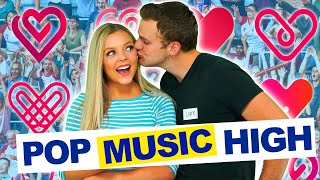 POP MUSIC HIGH FIRST KISS! (TEAM OFFICIAL MUSIC VIDEO) High School Musical Cheerleaders) Episode 6