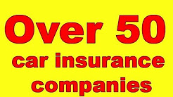 over 50 car insurance companies