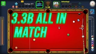 8 BALL POOL 3.3B ALL IN MATCH