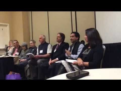 Victor Mair and Tansen Sen speak for authors in the Cambria Sinophone World Series (AAS 2014)