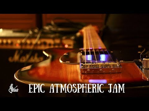 Epic Atmospheric Guitar Backing Jam Track // A Minor