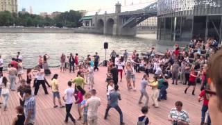Парк горького. Уроки танцев 2014