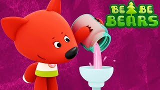 BE BE BEARS - Episode 41 - Ice cream HD Cartoons for kids - Kedoo ToonsTV