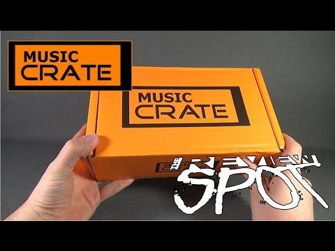 Subscription Spot - Music Crate April 2016 Subscription Box UNBOXING!