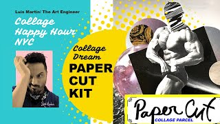 """Make a collage with """"Paper Cut Collage Kit"""""""
