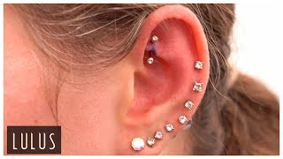 She Has 20 Ear Piercings And Counting!!